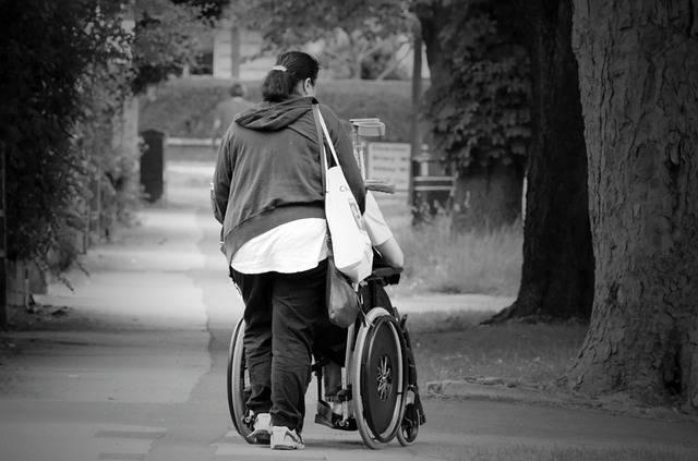 Help Wheelchair Women - Free photo on Pixabay (551817)