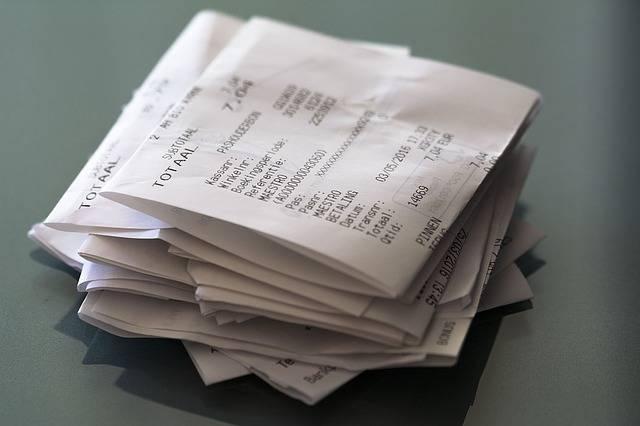Receipts Receipt Pay - Free photo on Pixabay (551841)