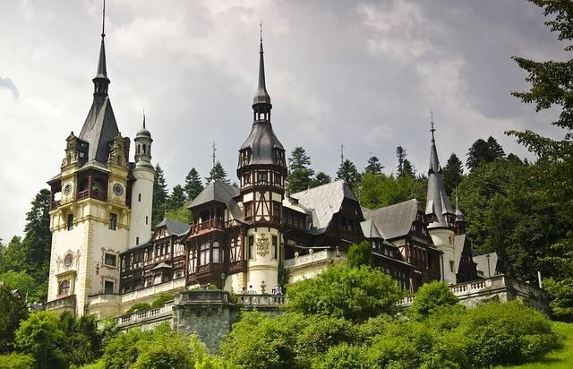 Peles Castle Architecture Sinaia - Free photo on Pixabay (553080)
