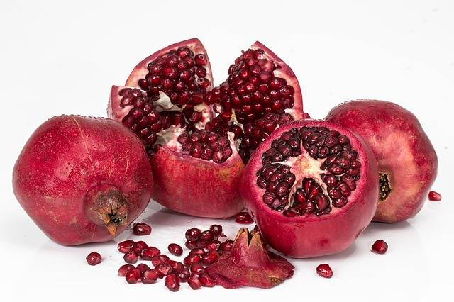 Pomegranate Fruit Seeds - Free photo on Pixabay (553553)