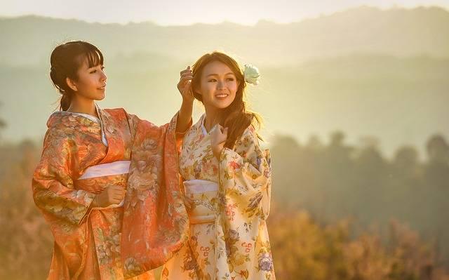 Asia Kimono Geisha - Free photo on Pixabay (554506)