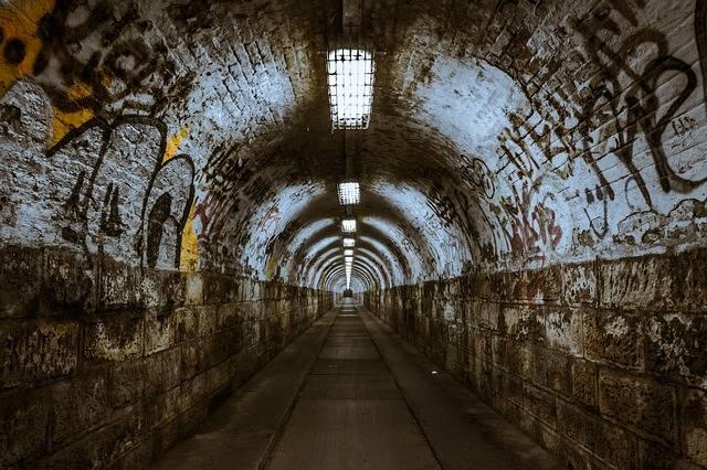Tunnel Underground Underpass - Free photo on Pixabay (554736)