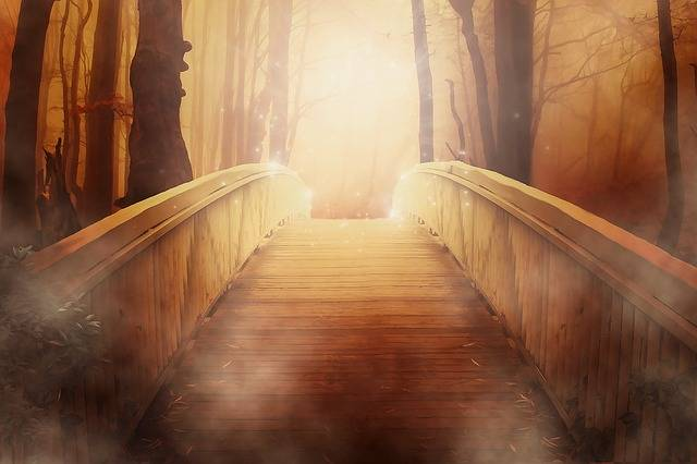 Bridge Golden Light - Free image on Pixabay (555662)