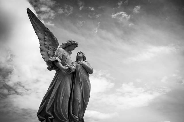 Cemetery Peace Angel - Free photo on Pixabay (555802)