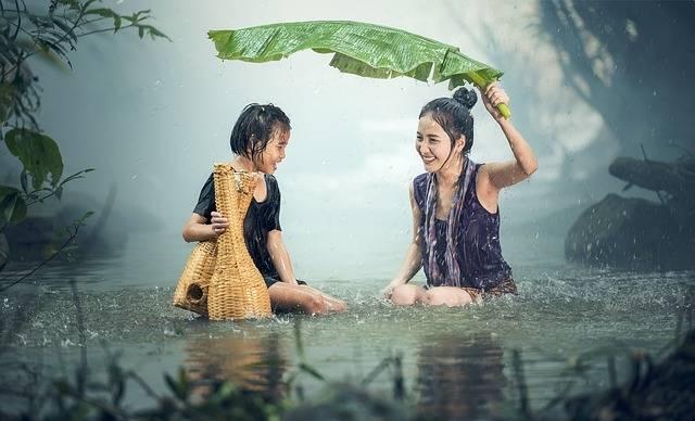 Woman Young Rain - Free photo on Pixabay (557497)
