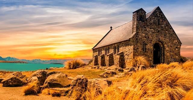 Church Ancient Landscape - Free photo on Pixabay (559659)