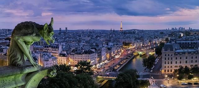 Paris Gargoyle France - Free photo on Pixabay (560962)