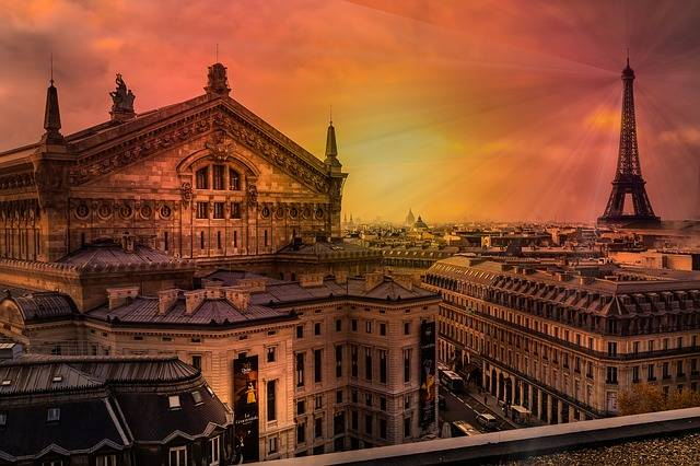 Paris Eiffel Tower France - Free photo on Pixabay (560975)