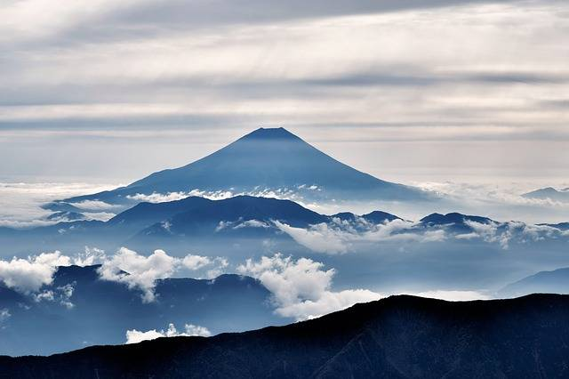Mt Fuji Volcano Mount - Free photo on Pixabay (561717)