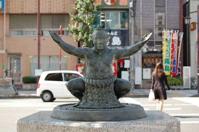 Sumo Fighter Sculpture - Free photo on Pixabay (561720)