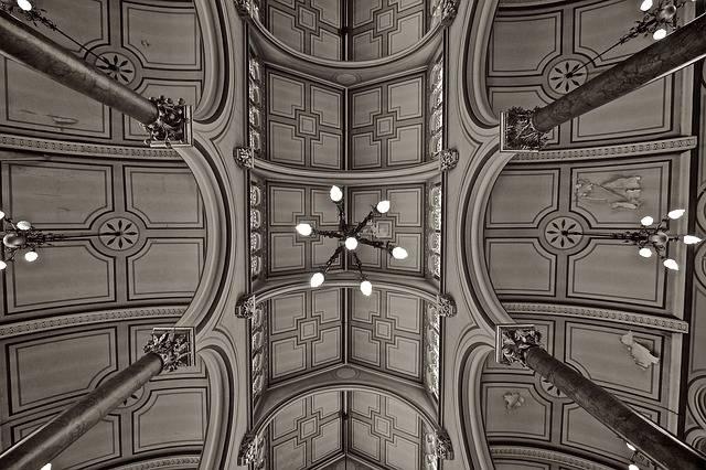 Synagogue Ceiling Brighton - Free photo on Pixabay (561789)