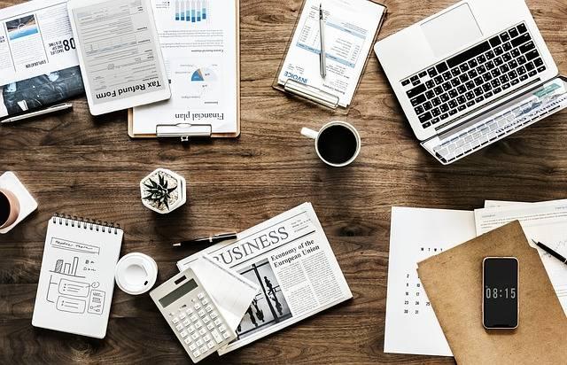 Desk Work Business - Free photo on Pixabay (564856)