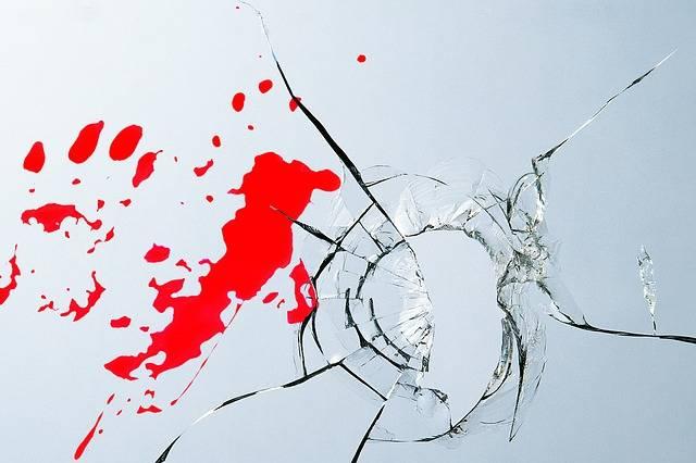 Burglary Glass Blood - Free photo on Pixabay (565225)