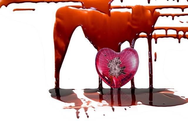 Blood Heart Broken - Free photo on Pixabay (565354)