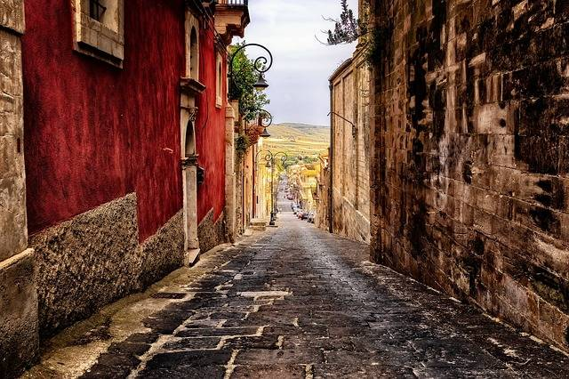 Alley Road Sicily - Free photo on Pixabay (568623)