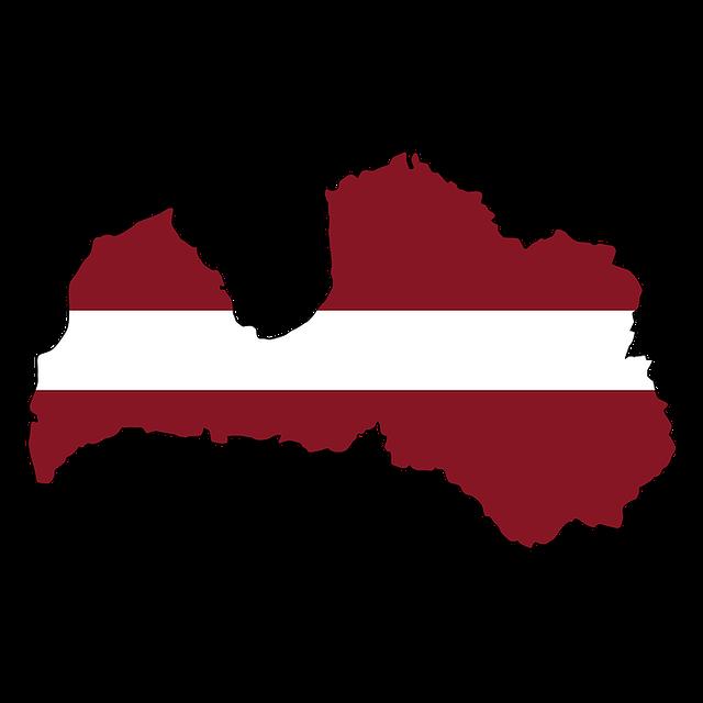 Latvia Map Land - Free image on Pixabay (569639)