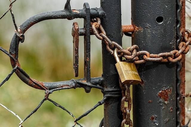 Padlock Lock Chain - Free photo on Pixabay (570960)