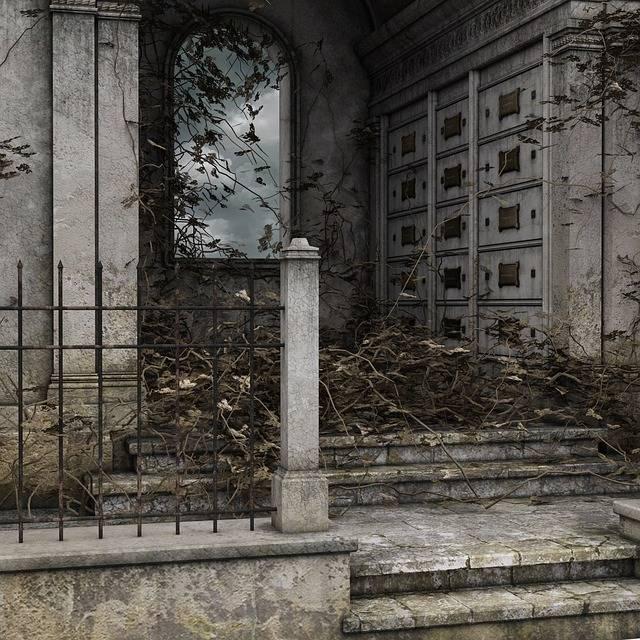 Mausoleum Morbid Cemetery - Free photo on Pixabay (571241)