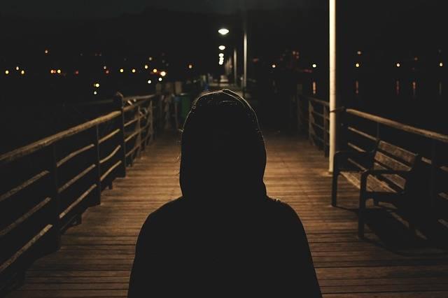 Hoodie Sweater Dark - Free photo on Pixabay (571243)