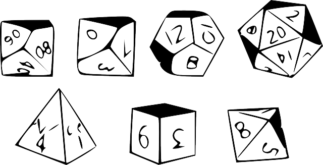 Dice Cube Gaming Platonic - Free vector graphic on Pixabay (572108)