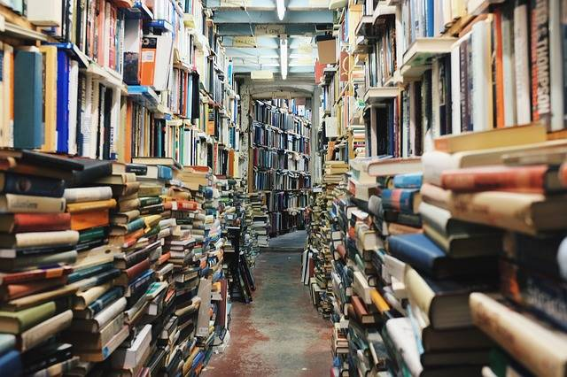 Books Library Education - Free photo on Pixabay (572142)