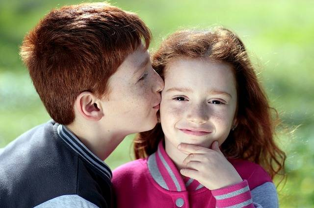 Brother Sister Red Hair - Free photo on Pixabay (572631)