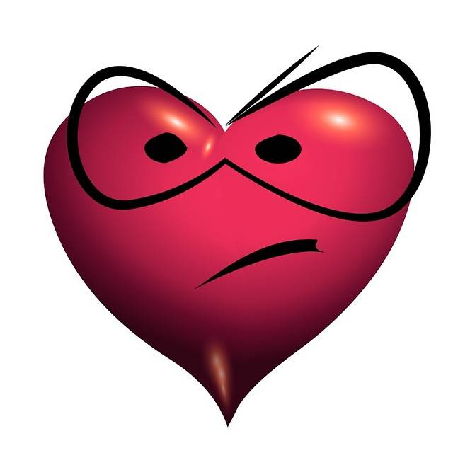 Heart Mecontent Unsatisfied - Free image on Pixabay (573693)
