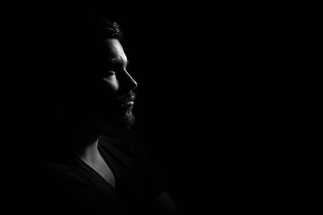 Man Portrait Gloomy - Free photo on Pixabay (573894)