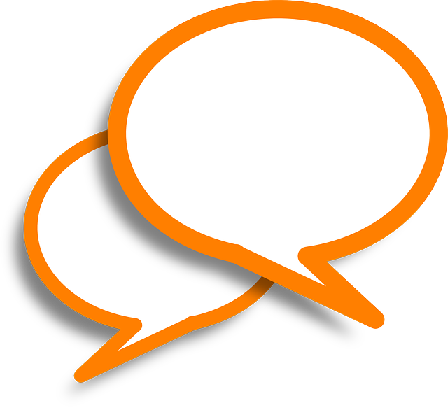 Speech Bubbles Comments Orange - Free vector graphic on Pixabay (575082)
