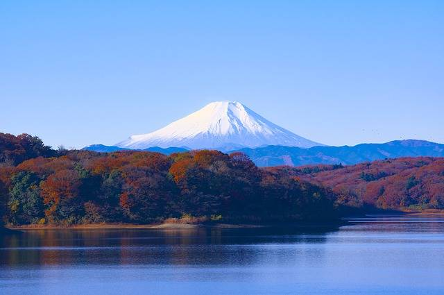 Japan Mt Fuji Sayama Lake - Free photo on Pixabay (575084)