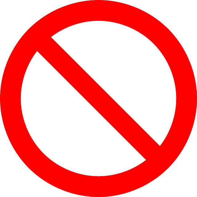 No Symbol Prohibition Sign - Free vector graphic on Pixabay (575887)