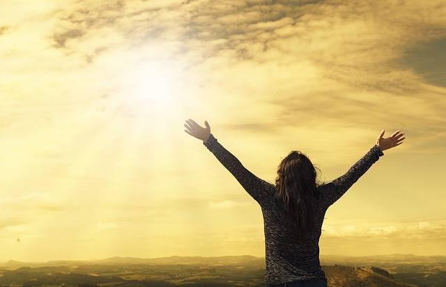 Sky Freedom Happiness - Free photo on Pixabay (575894)