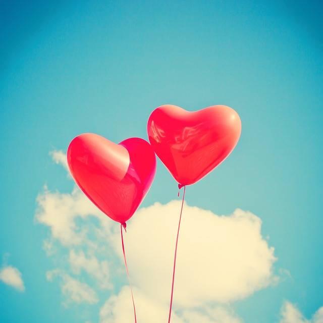 Balloon Heart Love - Free photo on Pixabay (576391)