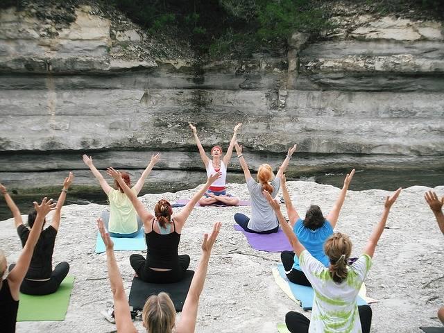 Women Yoga Classes Asana - Free photo on Pixabay (576657)