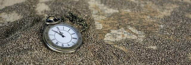 Pocket Watch Time Of Sand Map - Free photo on Pixabay (577158)
