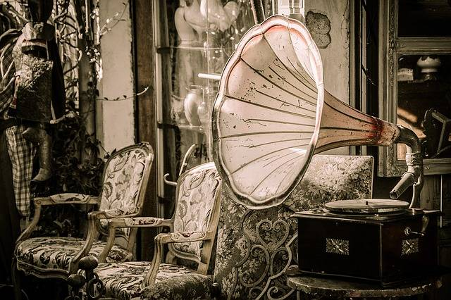 Flea Market Gramophone Music - Free photo on Pixabay (578670)