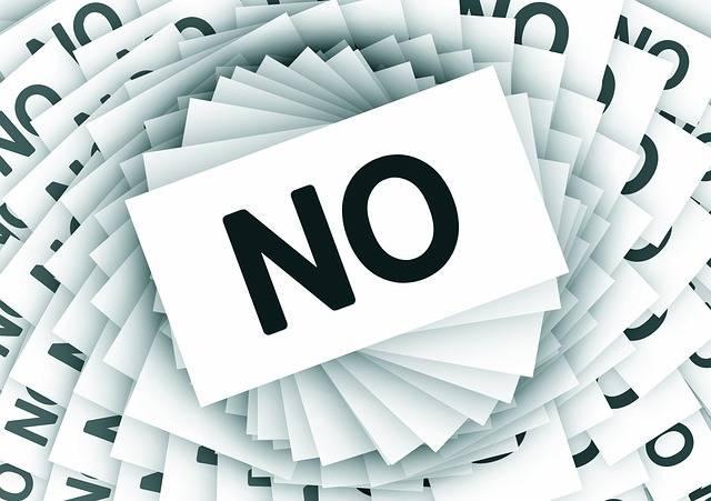 No Negative Cards - Free image on Pixabay (578832)