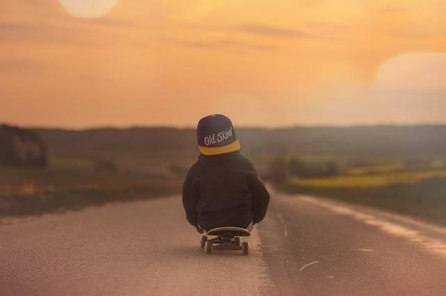 Skateboard Child Boy - Free photo on Pixabay (578848)