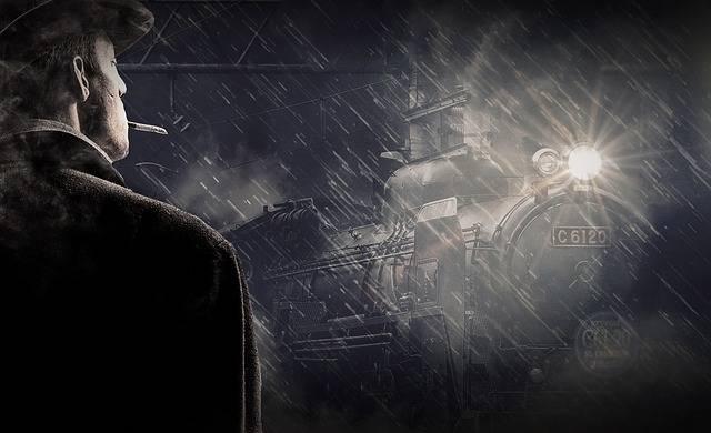 Man Rain Snow - Free photo on Pixabay (578857)