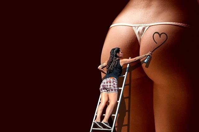 Heart Spray Butt - Free photo on Pixabay (579201)