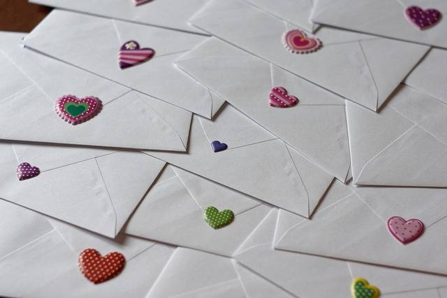 Envelope Letters Love - Free photo on Pixabay (579608)