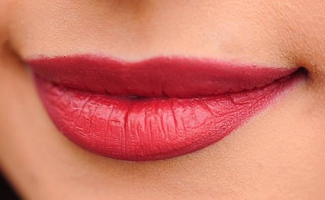 Lips Red Woman - Free photo on Pixabay (580157)