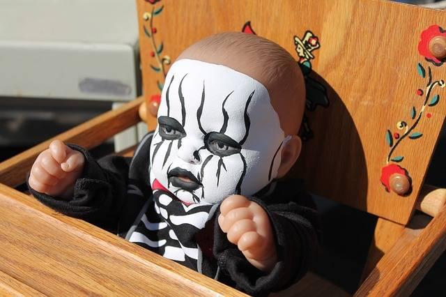 Pediophobia Halloween Doll Haunted - Free photo on Pixabay (580171)