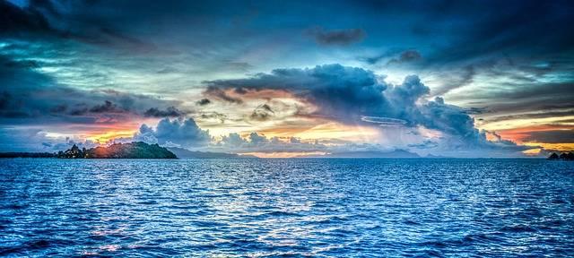 Bora-Bora French Polynesia Sunset - Free photo on Pixabay (580463)