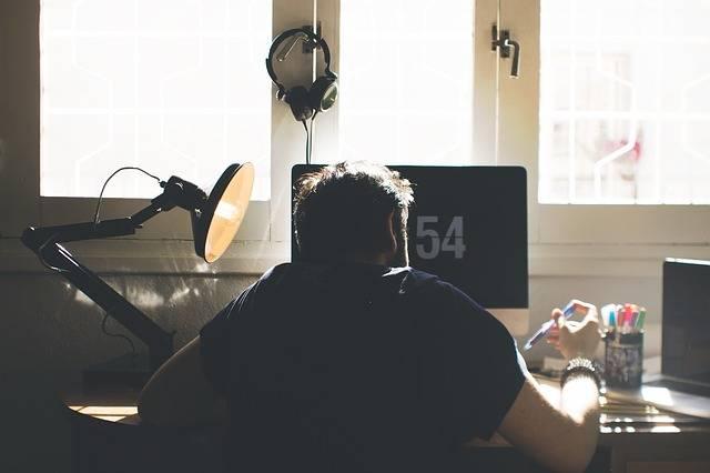 Chair Computer Desk - Free photo on Pixabay (581076)