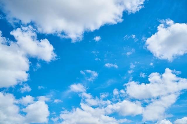 Sky Blue Clouds - Free photo on Pixabay (581183)