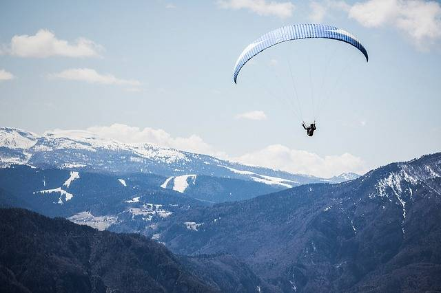 Landscape Mountains Paragliding - Free photo on Pixabay (581187)