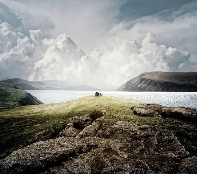 Landscape Mountains Sea - Free photo on Pixabay (582597)