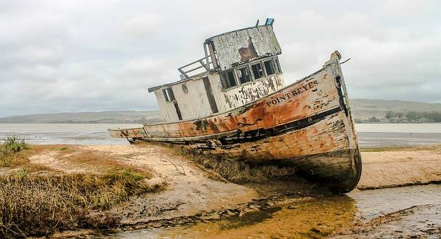 Shipwreck Ship Wreckage California - Free photo on Pixabay (582610)