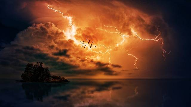 Thunderstorm Sea Clouds - Free photo on Pixabay (582616)
